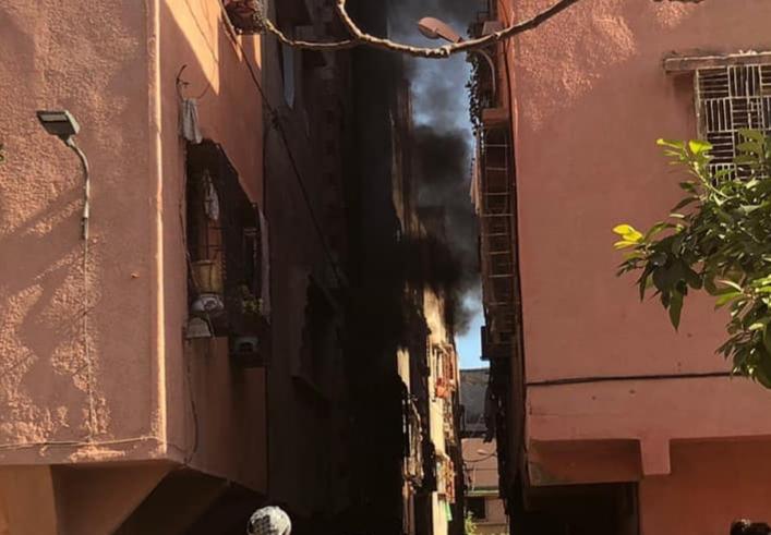 إصابةُ ثلاثة طلبة في انفجار قنينة غاز بمراكش