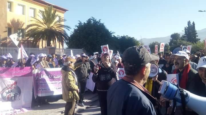 """رجالُ التّربيّة والتّعليم يصْنعُون الحدث في """"إضراب وطني وحدوي"""""""