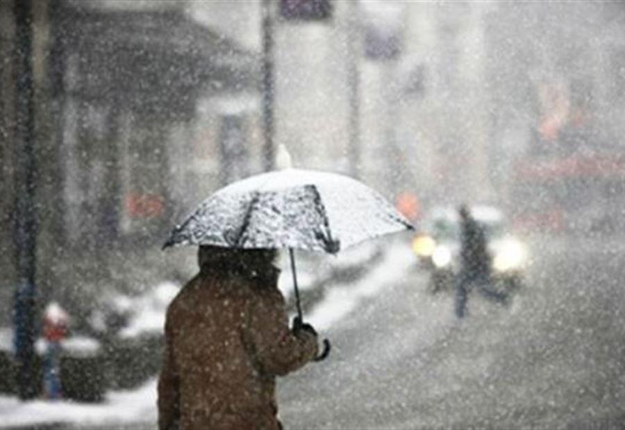 طقس الأربعاء: أمطار وثلوج ورياح قوية بهذه المناطق