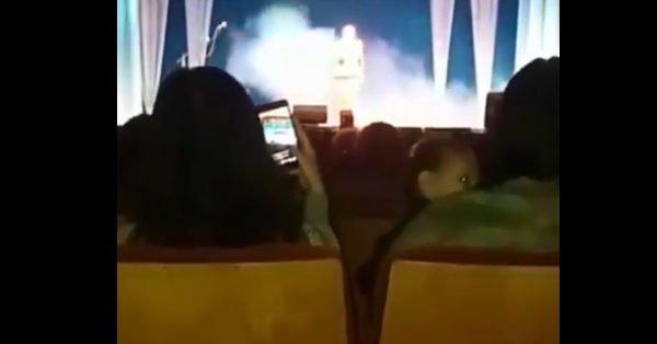 فيديو صادم ..شاهد لحظة وفاة مغنية روسية علي خشبة المسرح
