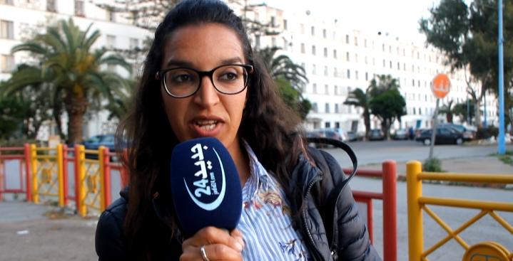 """صفية كجي الأستاذة المتهمة بالتحريض ببرشيد ..""""هل الأساتذة قاصرون حتى أحرضهم على الإضراب"""" (فيديو)"""