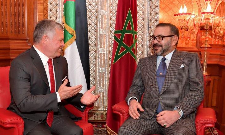 العاهلان المغربي والأردني: الجولان أرض سورية محتلة.. والدفاع عن القدس أولوية قصوى