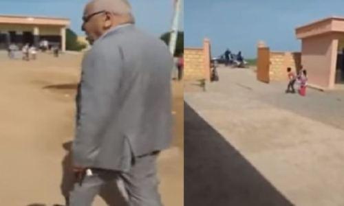 إعفاء مدير مدرسة ببرشيد بعد واقعة اقتحام رئيس جماعة للمؤسسة و تهديده للأساتذة