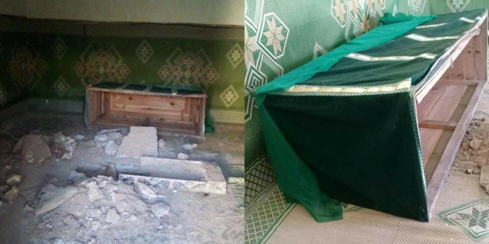 بحثاً عن الكنوز مجهولون ينبشون قبر ولي صالح بنواحي سطات