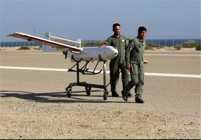 فيديو …لأول مرة ..طائرة تجسس إيرانية تتفوق على السلاح الأمريكي وتحلق فوقه