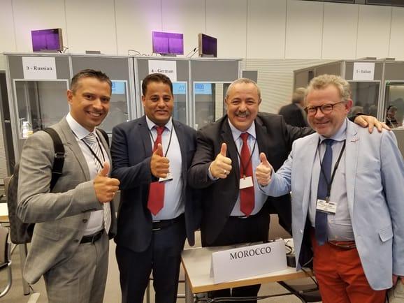 شعبة مجلس المستشارين بالجمعية البرلمانية لمنظمة الأمن والتعاون في أوروبا تنتصر للقضية الوطنية من البرلمان الدنماركي