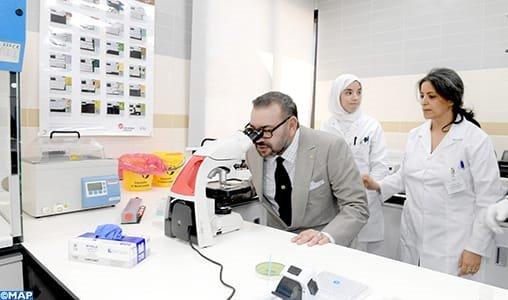 جلالة الملك يدشن مركز الفحص بالأشعة والتحاليل الطبية للأمن الوطني بالرباط