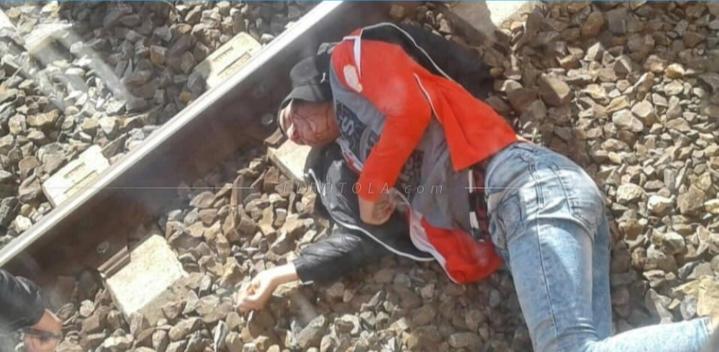 مصير مؤلم لمشجع للكوكب المراكشي بعدما قفز من القطار