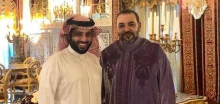 تركي آل الشيخ يلتقي بالملك محمد السادس ويُعلن إقامة نهائي البطولة العربية بالرباط سنة 2020