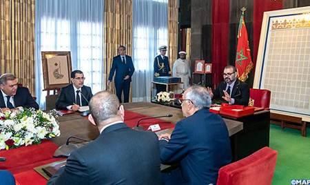 """الملك محمد السادس يترأس جلسة تقديم خارطة طريق إحداث """"مدن المهن والكفاءات"""" في كل جهة"""