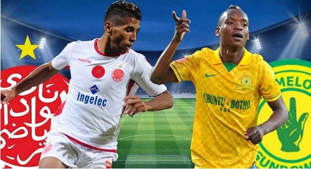 عصبة أبطال افريقيا : الوداد البيضاوي في لقاء صعب أمام ماميلودي صن داوز الجنوب الإفريقي