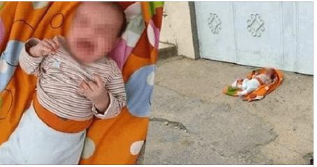 قلوب الحجر…العثور على رضيع أمام باب مسجد بعد صلاة التراويح