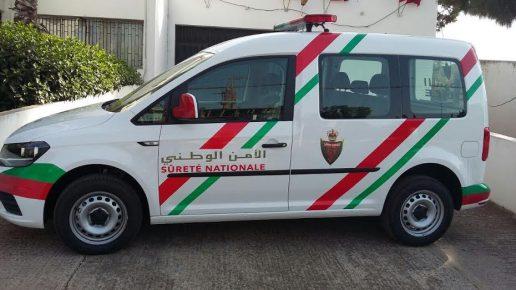 إصابة شرطيين من بني ملال في انقلاب سيارة للشرطة