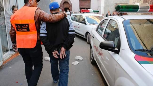 سلا..توقيف برتغالي بحوزته كمية مهمة من المخدرات(صور)
