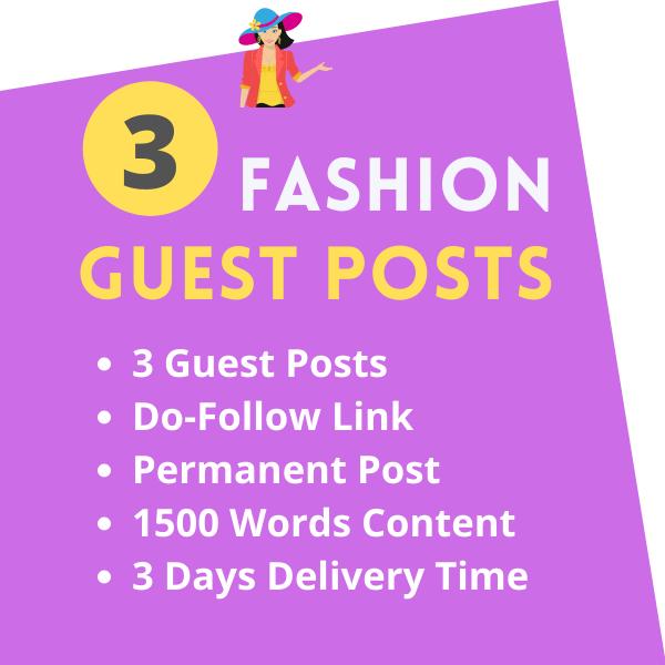 Fashion Guest Posts Dofollow HQ Lifestyle Blog