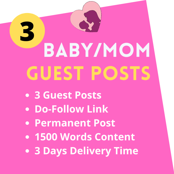 Baby Guest Post on Parenting Mommy blog
