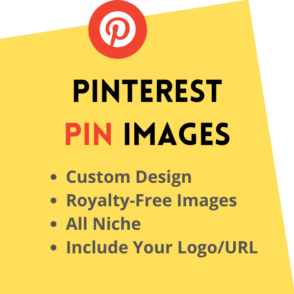 Design Pinterest Pin images for your blog