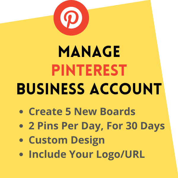 Manage Your Pinterest Business Account for 30 Days