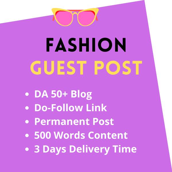 High DA Fashion Guest Post