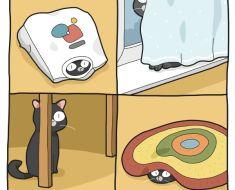 13 dessins qui montrent avec beaucoup d'humour la vie quand on a un chat