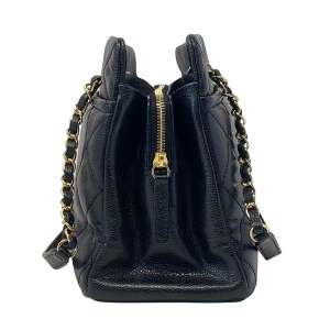 Chanel Black GHW Timeless Shopping Tote