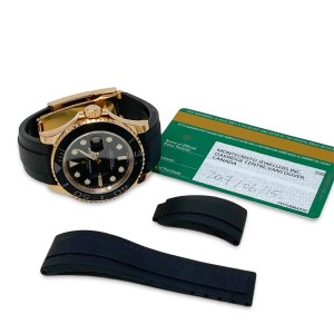 Rolex 18K Rose Gold O.P. Yacht Master Watch 40mm Automatic