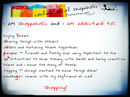 ShopaholicFromHome Confession