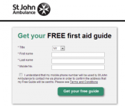 Free First Aid Claim Form