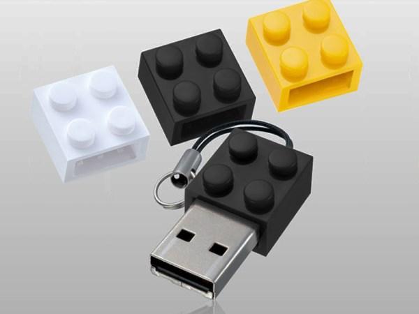 USB Lego Blocks KeyChain