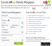 eBay Hot Deals Tools
