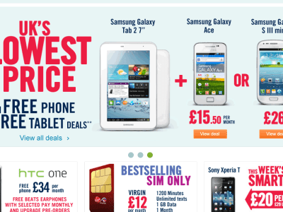 Mobile Phones Under £5 at CW