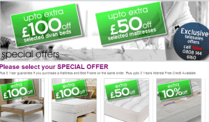 win up to £100 bedroom furniture