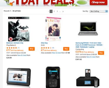 Daily Deals Play.com