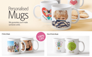 Free Personilised Mug