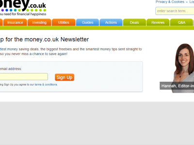 Money.co.uk Newsletter