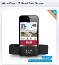 Win The Polar H7 heart rate sensor
