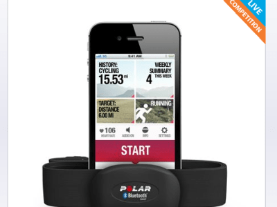 Win The Polar H7 heart rate sensor