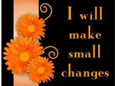 I will make small changes