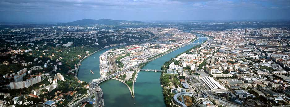 Lyon - city of two rivers