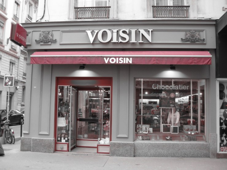 Voisin Chocolate in Lyon