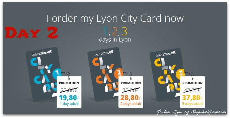 Day 2 Use Lyon City Card