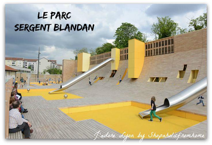 Le Parc Sergent Blandan. Photo by by lyon.fr