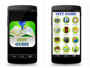 Lyon City Guide Mobile App