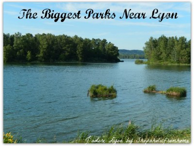 The biggest parks near lyon