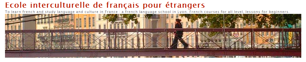The Ecole Interculturelle de francais