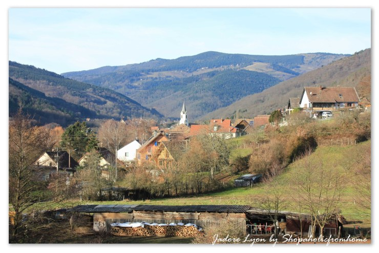 Landscape in Alsace