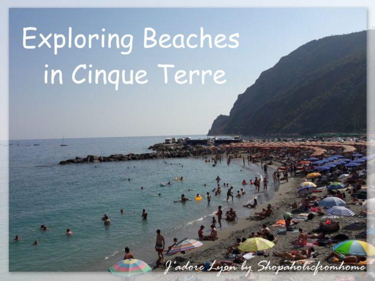 Exploring Beaches in Cinque Terre