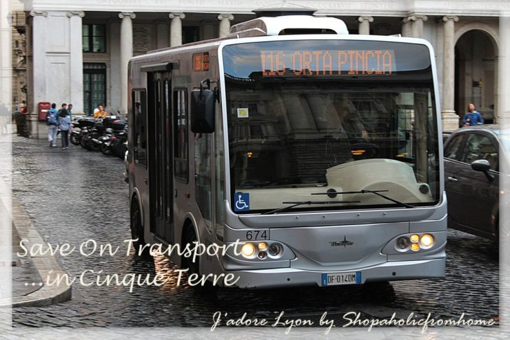 Save on Transport in Cinque Terre