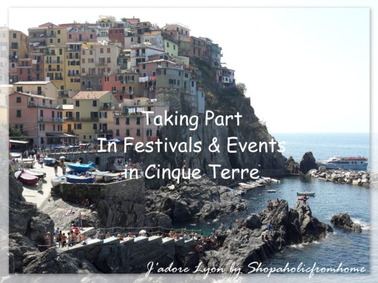 Taking part in Events and Festivals in Cinque Terre