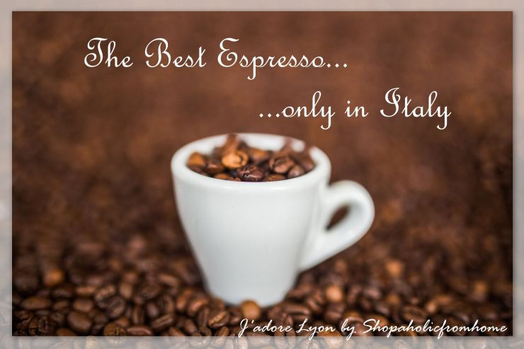 The Best Espresso only in Italy